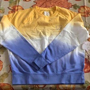 NWT Ivory Ella Dip Dye Sweatshirt Size Medium